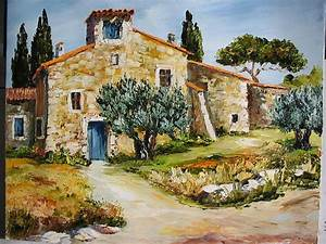 Un Mas En Provence : peintures mas en provence page 6643 cr ations d 39 artistes ~ Farleysfitness.com Idées de Décoration