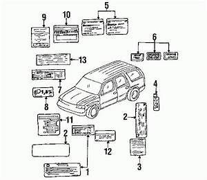 2004 Gmc Yukon Parts Diagram