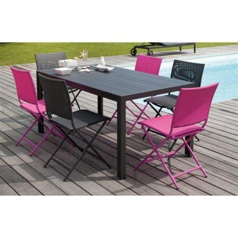 chaises pliantes pas cher table 6 chaises pas cher maison design modanes com