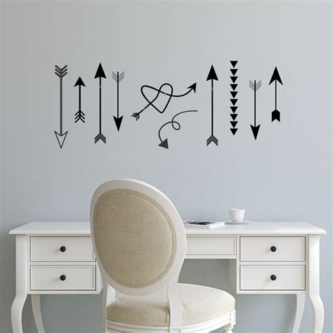 whimsical arrows wall quotes wall art decal wallquotescom