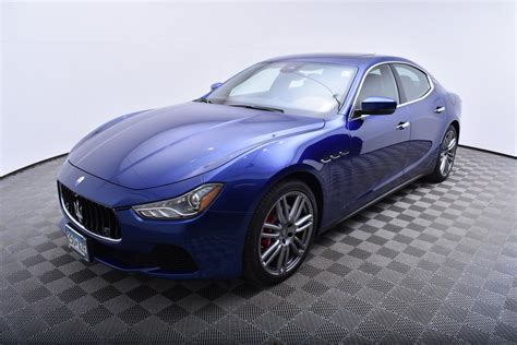 Ghibli Preowned by Pre Owned 2017 Maserati Ghibli S Q4 3 0l Sedan In Golden