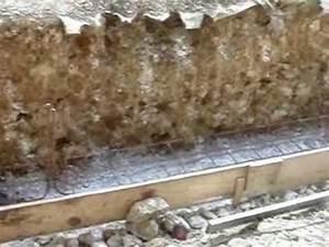 Fondation Mur Parpaing : fondation et premiers parpaing mur escalier youtube ~ Premium-room.com Idées de Décoration