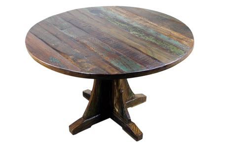 rustic wood table ls mexicali rustic wood dining table 48 round mexican