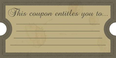 vintage ticket template   clip art