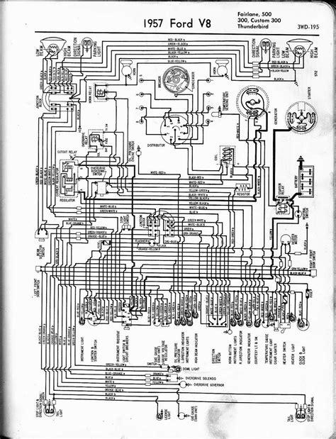 69 Fairlane Windshield Wiper Wire Diagram by Free Auto Wiring Diagram 1957 Ford V8 Fairlane Custom300