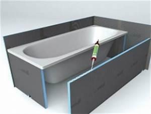 Habillage De Baignoire : wedi bathboard habillage de baignoire 100 tanche et ~ Premium-room.com Idées de Décoration