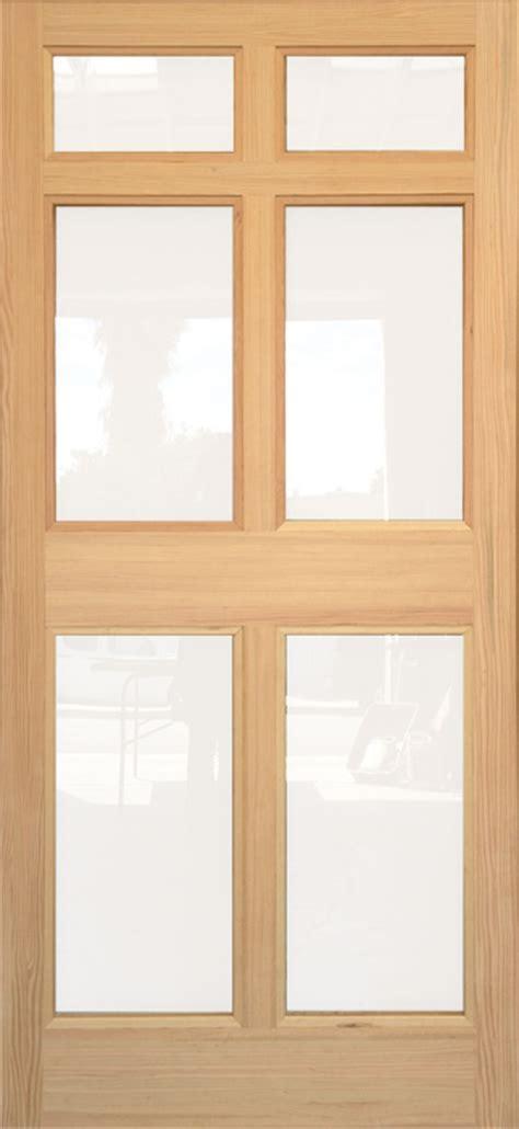 wooden door with glass panel coppa woodworking wood screen doors and wood doors 1958