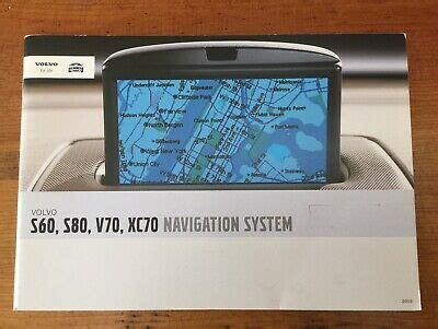 volvo    xc navigation system vns owners