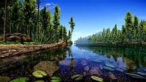 Cryengine 3 Forest Lake