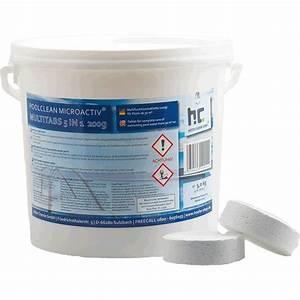 Galet De Chlore : galets de chlore multifonction 200g 2x5kg h fer chemie ~ Edinachiropracticcenter.com Idées de Décoration