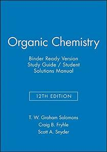9781119077336  Organic Chemistry  12e Binder Ready Version