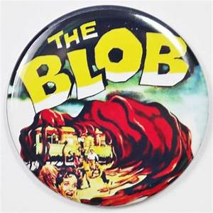 The Blob Movie Poster FRIDGE MAGNET Monster Sci Fi