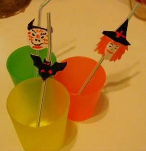 Deco Halloween A Fabriquer : fabriquer des marque pailles d 39 halloween halloween t te ~ Melissatoandfro.com Idées de Décoration