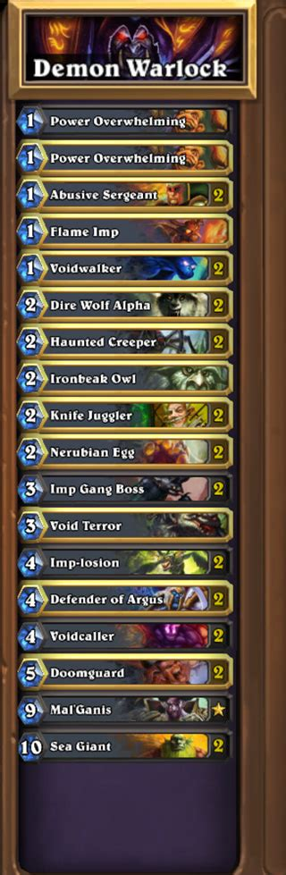 zoo warlock deck gvg zoom through hearthstone with this warlock zoo deck