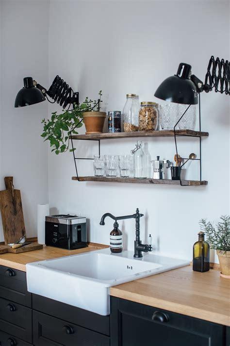 deco cuisine noir osez un robinet noir dans votre cuisine frenchy fancy