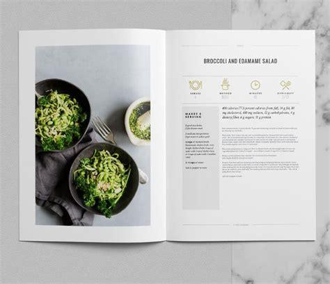 tribeca cookbook template indesign premium