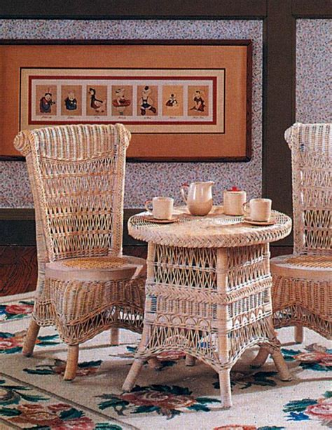 childrens wicker table and chairs childrens wicker table chairs whitewashed