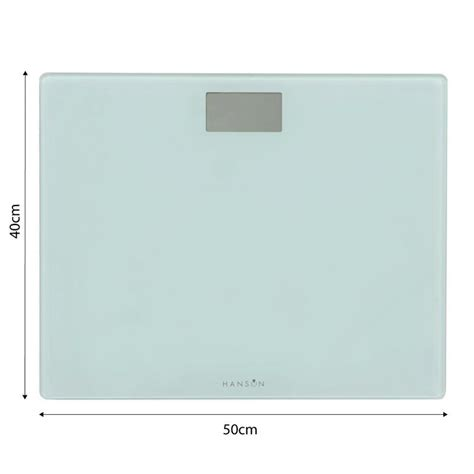 Hanson Hxl High Capacity Electronic Bathroom Body Weight