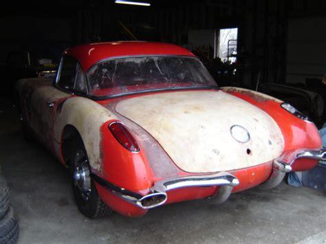 rustingmusclecars com 187 blog archive 187 1959 corvette for sale