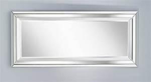 Miroir Rectangulaire Mural : right miroir mural design en verre grand modele ~ Teatrodelosmanantiales.com Idées de Décoration