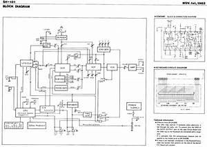 Roland Sh 101 Repair Service Manual Sh 101 Circuit Diagrams