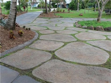 cement paver molds driveway pavers grass http www