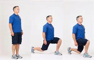 Lunge Exercises with Weights