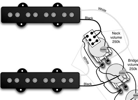 jazz bass series switch wiring when my are already