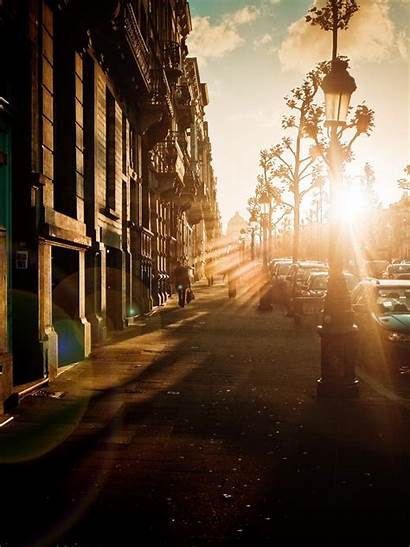 Street Cityscape Sunlight Android Whatsapp Wallpapers Iphone