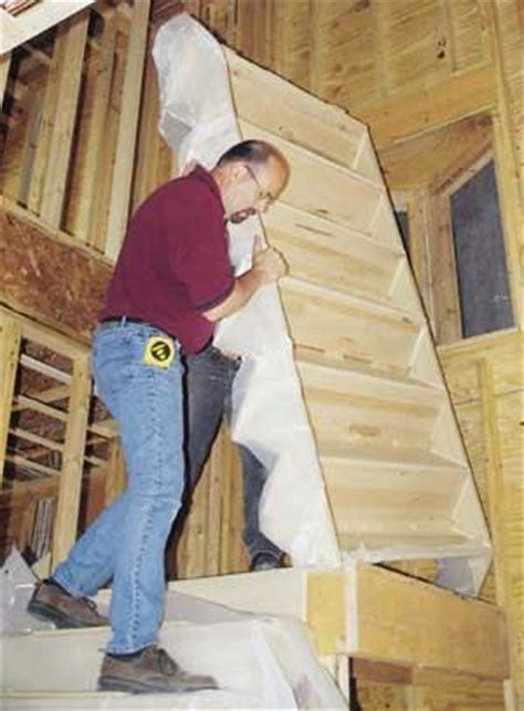 installing manufactured stairs jlc