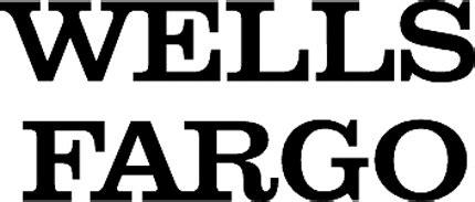 wells fargo  graphic logo decal customized