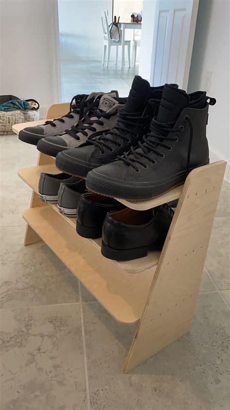 shoe rack  wife   needed