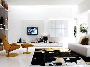Tapis Salon Design : tapis de salon moderne en 25 exemples et quelques astuces ~ Melissatoandfro.com Idées de Décoration