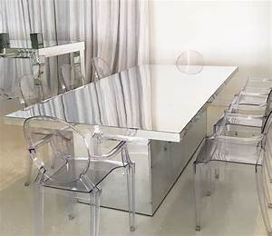 Mirrored Dining Table – Bella Acento