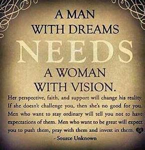 A man with #dre... Power Of Vision Quotes