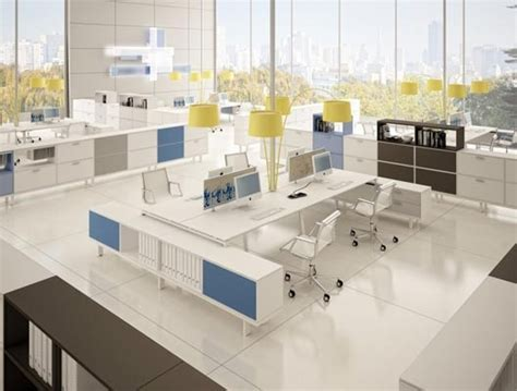 open plan  benching workstations offices