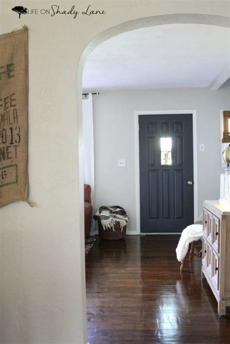 modern farmhouse door makeover life  shady lane