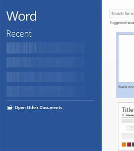 delete or hide recent documents list in microsoft word With microsoft recent documents