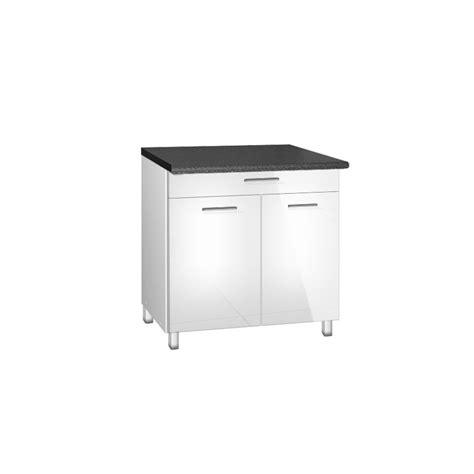 meuble cuisine avec tiroir meuble de cuisine bas 90 cm 1 tiroir tara avec pieds réglables