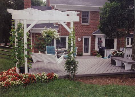 Deck Designs With Pergola