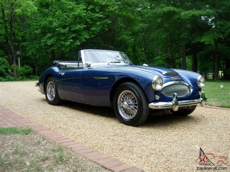1964 Austin Healey 3000 Bj8 Truly An Exceptional Example