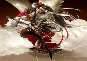 Warriors, Swords, Armor, Flight, Fantasy, Girls, Warrior, Sword, Wallpapers, Hd, Desktop, And