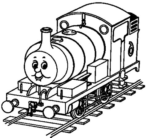 print  thomas  train theme coloring pages