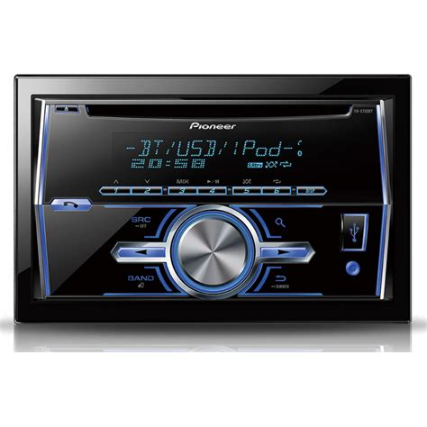 Usb Car Stereo by Pioneer Fh X700bt Din Usb Mp3 Cd Aux In Bluetooth
