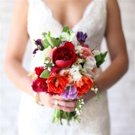 bright red peony peonies pinterest wedding bouquet