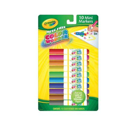 Crayola Color Wonder Mini Markers Classic 10/Pkg