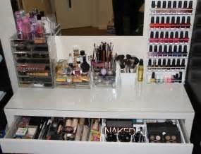 Acrylic Vanity Organizer by Make Up Storage Glam Amp Glitter