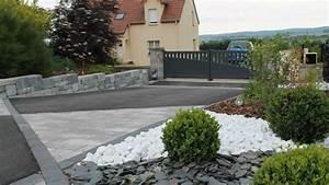 adrien michel paysagiste amenagements paysagers sur le With amenagement allee de garage
