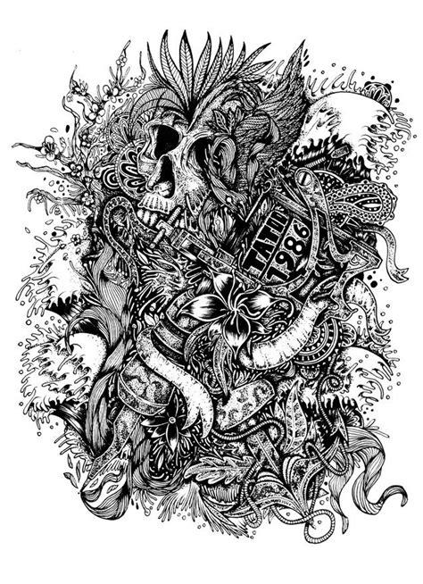 Back Skull Tattoo Idea  Best Tattoo Designs