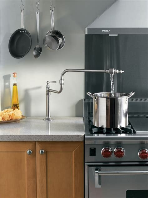 Pot Fillers: For the aspiring chef in all of us.   Kitchen